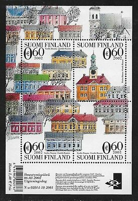 FINLAND 2002 UNESCO World Heritage SG MS1673 MNH/** (Cat £11)