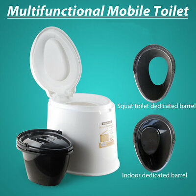 1.6 Gallon 6L Portable Toilet Travel Camping Commode Potty Outdoor/Indoor NEW!!