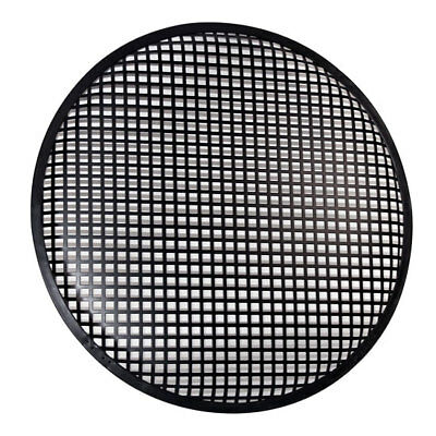 """Pyramid Steel Protective Subwoofer Sub Speaker Grills Grilles 10"""" Inch Pair"""