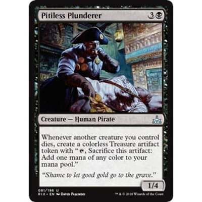 MTG RIVALS OF IXALAN * Pitiless Plunderer