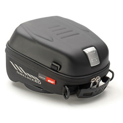 Givi ST605 Motorcycle Motorbike Waterproof Tanklocked Black 5 Ltr Inc Raincover