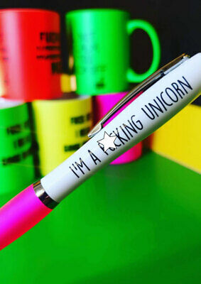 Funny Pens - Rude Cheeky Novelty Office Secret Santa unicorn	Pen 13