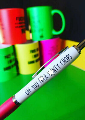 Funny Pens - Rude Cheeky Novelty Office Stationary Secret Santa Sweary Pen 10