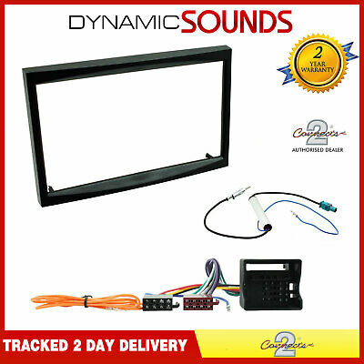 RADIO STEREO DOUBLE DIN FASCIA ADAPTOR FITTING KIT DFP-01-13 FITS PEUGEOT BOXER
