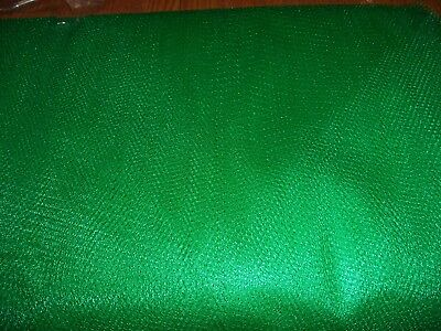 Kelly Green Nylon Net-  By The Yard - Tutus, Scrubbies * 70-72 Inch Width