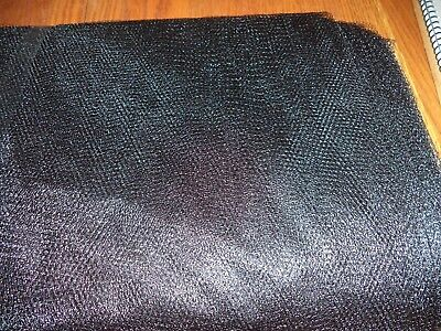 Black  Nylon Net-  By The Yard - Tutus, Scrubbies * 70-72 Inch Width