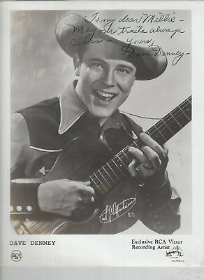 Dave Denney 8 Photos + Signed 8x10! - Grand Ole Opry