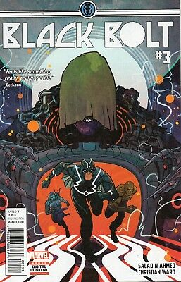 Black Bolt #3 (NM)`17 Ahmed/ Ward