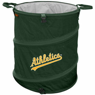 Oakland Athletics Logo Inc. Collapsible 3-In-1 Trashcan Cooler Coolers