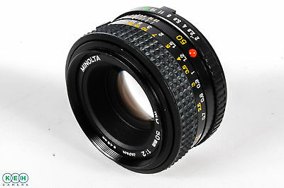 Minolta 50mm F/2 MD Mount Manual Focus Lens {49}