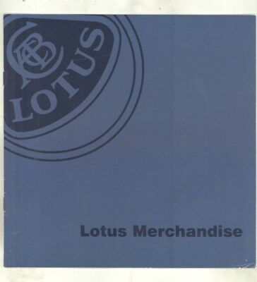 1990 Lotus Merchandise Key Chain Glasses Pen Clothing Patch Gift Brochure wy9492