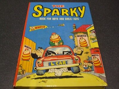 The SPARK Book 1973 Annual very nice condition no writting un-cliped good spine