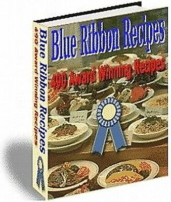 Blue Ribbon Recipes; 490 Award Winning Recipes From State Fairs From U.S.A. (CD)