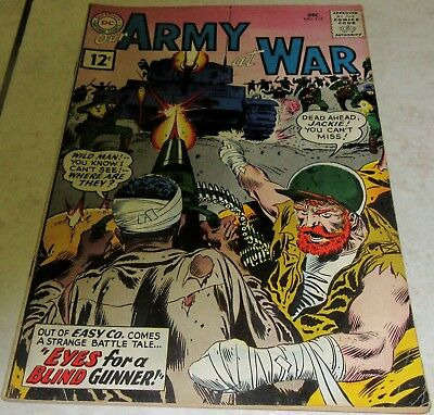 Our Army at War 113 (FN/VF 7.0) 1961 1st Jackie Johnson & Wildman 40% off Guide!