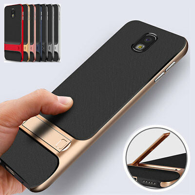 For Samsung Galaxy J7 Pro 2017 A6 A7 A8 2018 Shockproof Stand Bumper Case Cover