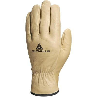 Stihl White Full Grain Leather Work Gloves Small 0000 884 1192 EN388 EN420