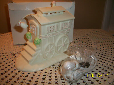 MIB Dept 56 Springtime Stories of the Snowbunnies My Woodland Wagon Night Light