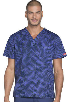 Whats Your Point Dickies Scrubs EDS Signature Mens V Neck Top DK725 WAYP