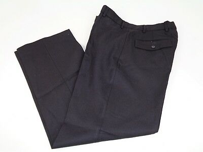 Ex Police  Prison Officer Security 100% Wool Uniform Trousers C1 (LE5)