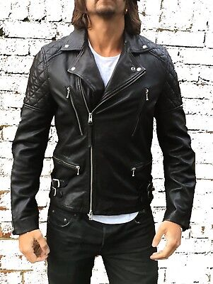 *NEW WITH TAGS* ALL SAINTS YUKU LEATHER BIKER JACKET Conroy RRP £380