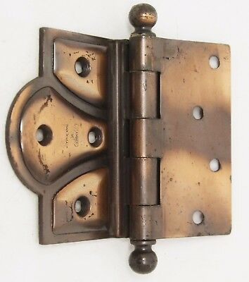Antique Copper Plated Butterfly Hinge