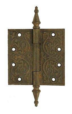 Victorian Ornate Cast Iron Hinge