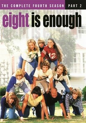 EIGHT IS ENOUGH COMPLETE SEASON 4 New 7 DVD Set Fourth Warner Archive Collection