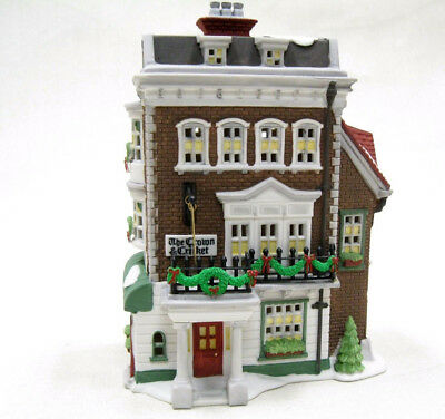 Dept 56 Dickens Village ~ The Crown & Cricket Inn ~ Mint In Box 57509