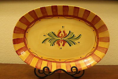 GAIL PITTMAN Southern Living at Home Large Siena Serving Plate Tray