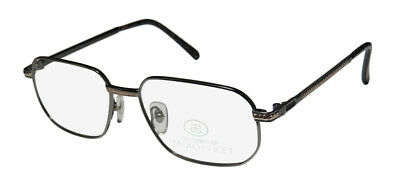New Paolo Gucci 8112 21K Gold Plated Fashionable Male Hip Eyeglass Frame/glasses