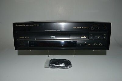 Pioneer DVL-700 Laserdisc DVD Combo Player Used Tested and Working No Remote