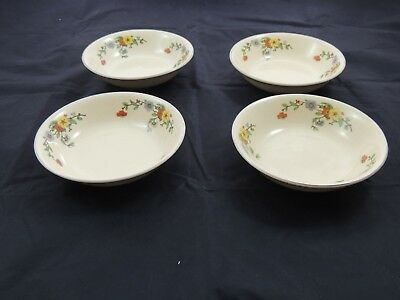 Leigh Ware by Leigh Potters Umbertone Springs USA set of 4 Berry Bowls
