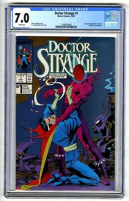 S384. DOCTOR STRANGE #1 Marvel Comics CGC 7.0 FN/VF (1997) FIRST ISSUE