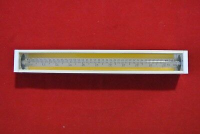 Vintage Matheson Gas Products M 5324 Flow Meter Tube Cube No. 610 A