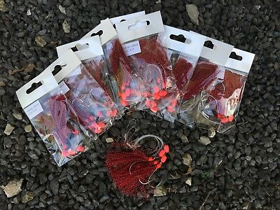 10x Sabiki Rigs No1 Flathead snapper rigs , 6/0 hooks excellent item . #4