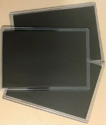 "100 Semi-Rigid Magnetic Photo Protector Pocket Sleeves 4"" x 6"""