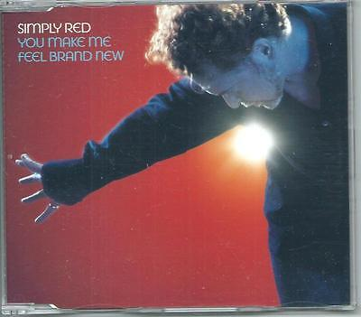 SIMPLY RED You Make Me Feel Brand New 1 track PROMO CD SINGLE