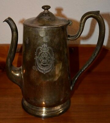 Vintage Victor S.CO. EP-NS Silver Soldered Omaha Athletic Club Pitcher 48 oz
