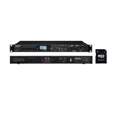 Tascam SD-20M 4-Track Solid-State Recorder with EV Music 32gb SD Card New