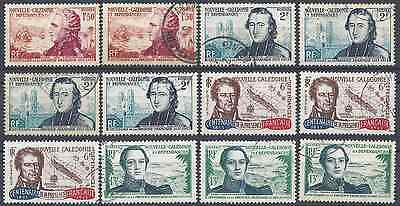 New Caledonia N°280/283 Obliteration Stamp Has Date Value