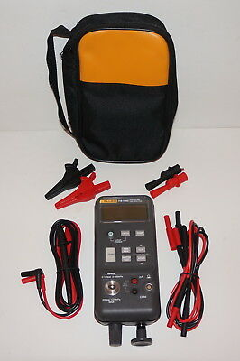 Fluke 718-100G Pressure Calibrator -12 Psi To 100 Psi Range W Carrying Case Used