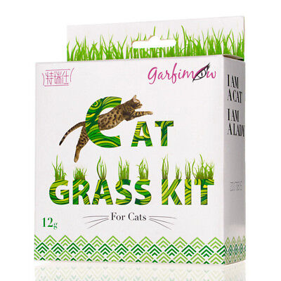 NEW 12g/bag Sweet Cat Grass Seeds For Cats and Other Pets Cat Grass Kit
