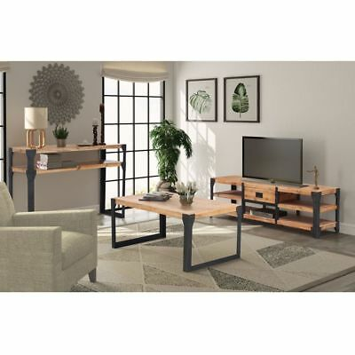 vidaXL TV Stand Cabinet Display Unit Home with Drawer Acacia Wood Multi Models