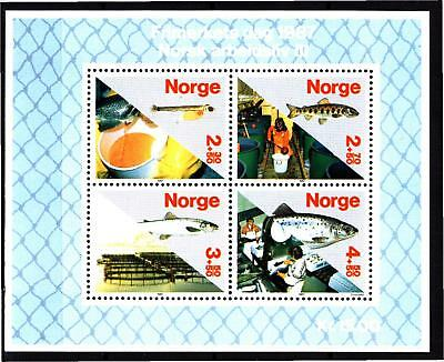 Norway 1987 Working Life S/s (26) Mint Never Hinged