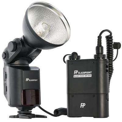 "Flashpoint StreakLight 360 TTL Flash for Canon with BP-960 Power Pack ""OPEN BOX"""