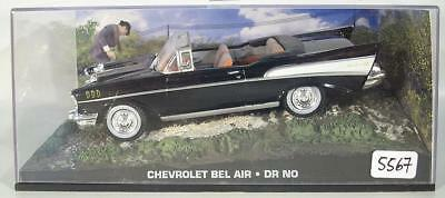 James Bond 007 Collection 1//43 Chevrolet Bel Air Dr.No in O-Box #5567