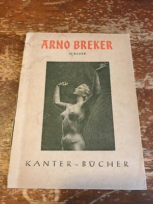 Arno Breker 1943 Book collection of pictures of sculptures CG-314A