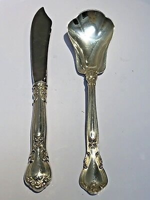 Gorham Chantilly Sterling Silver Sugar Spoon And Butter Knife