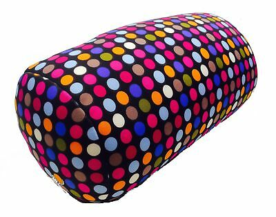 Microbead Cushie Roll Pillow Small Dot Pattern