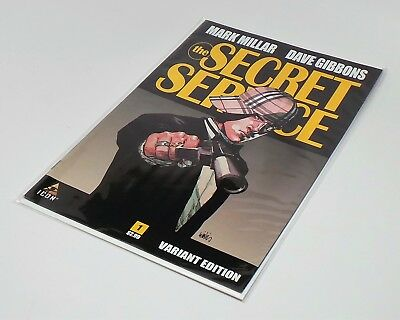 THE SECRET SERVICE 'KINGSMAN' COMIC #1 VARIANT EDITION BRAND NEW Mark Millar